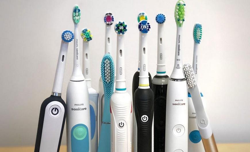 Виды электрических зубных щеток
