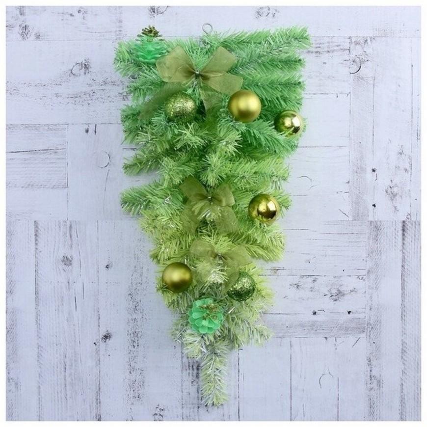 Зимнее волшебство Ель искусственная зелёная, 50 см