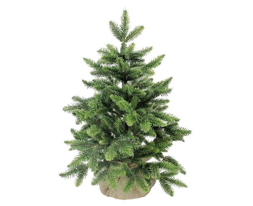 Triumph Tree Ель Лесная Красавица в мешочке, 60 см