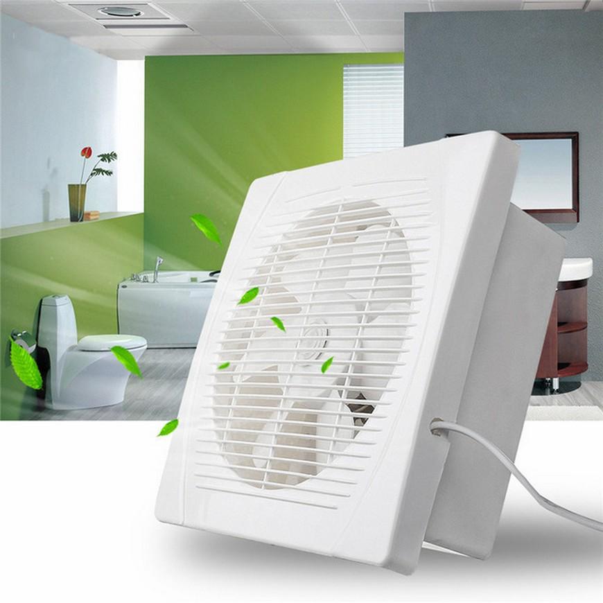 Типы вентиляторов для ванной комнаты